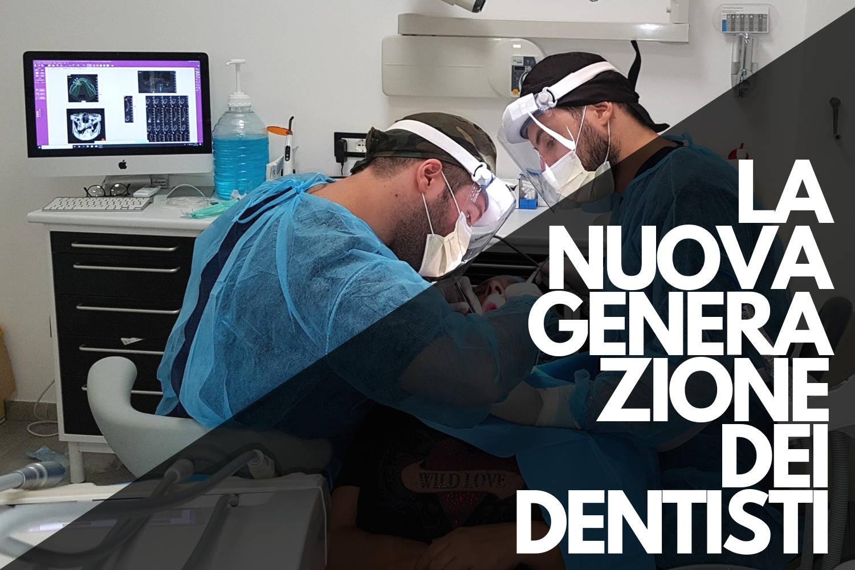 Studio Dentistico Pinzarrone - Banner I dentisti operano
